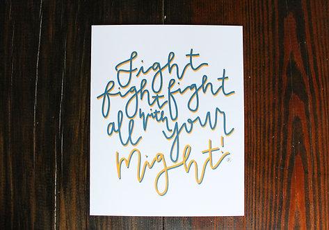 ETSU | Fight Fight Fight