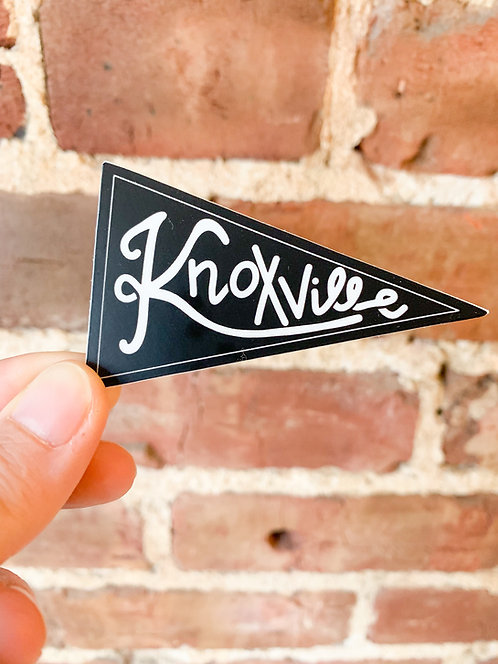 Knoxville Pennant | Sticker