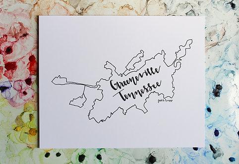 Greeneville, TN   City Limits