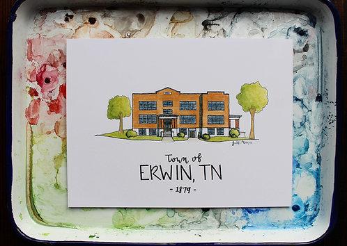 Erwin, TN | Old Elm Street School