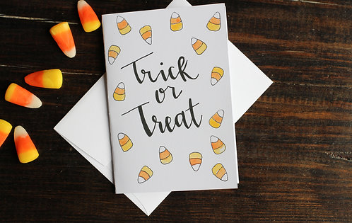 Trick or Treat | Notecard Set