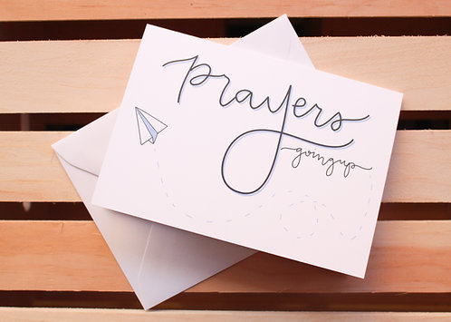 Prayers Going Up | Minis