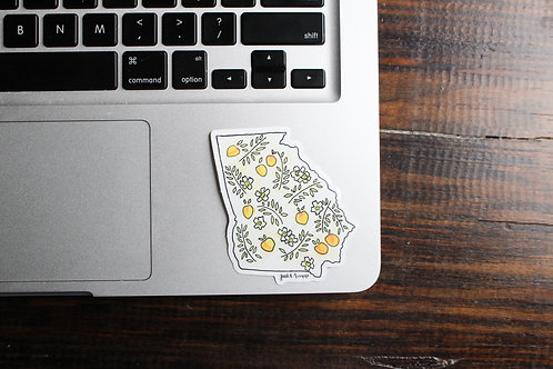Peach State | Sticker