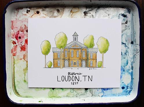 Loudon County, TN   Courthouse