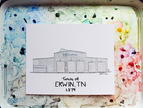 Erwin, TN   CSX Car Shop