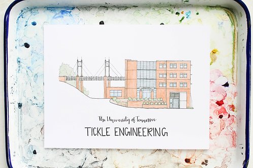 University of Tennessee | Tickle Building