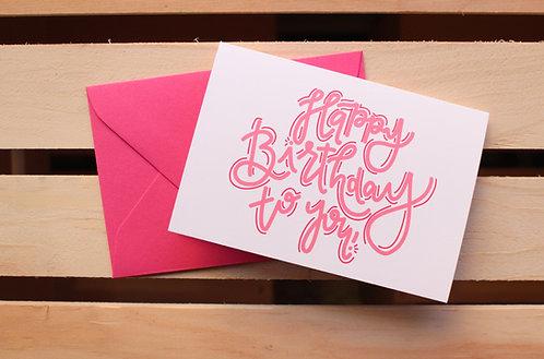 Happy Birthday to You! | 5x7