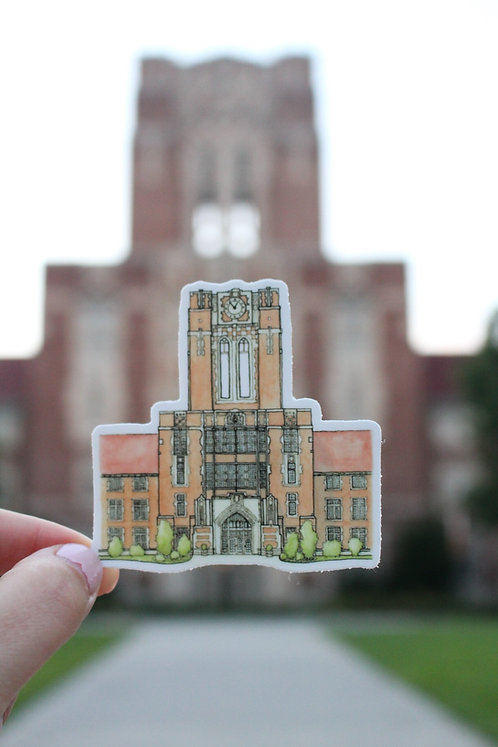 Ayres Hall | Sticker
