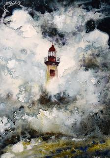 phare tempête