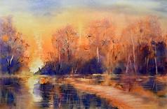 l'étang des romantiques