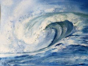 une larme dans l'ocean