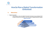 How to plan a digital transformation