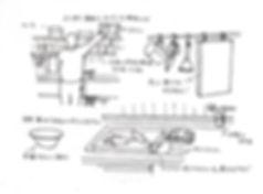 アトリエ樫で作った台所の詳細。工夫がいっぱい詰まっています。