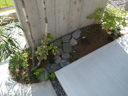 南の庭と北の庭