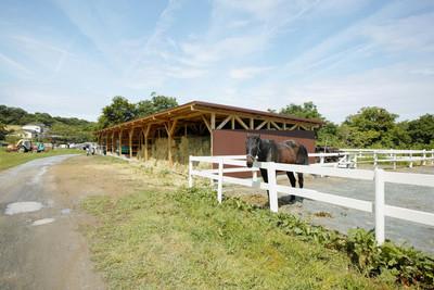 仕事に「デンマーク牧場 畜舎・堆肥舎」をUP