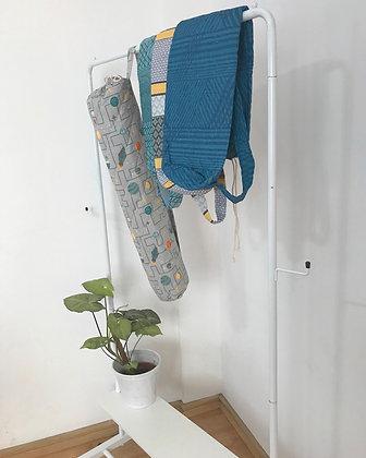 porta mat yoga | tecido de reuso