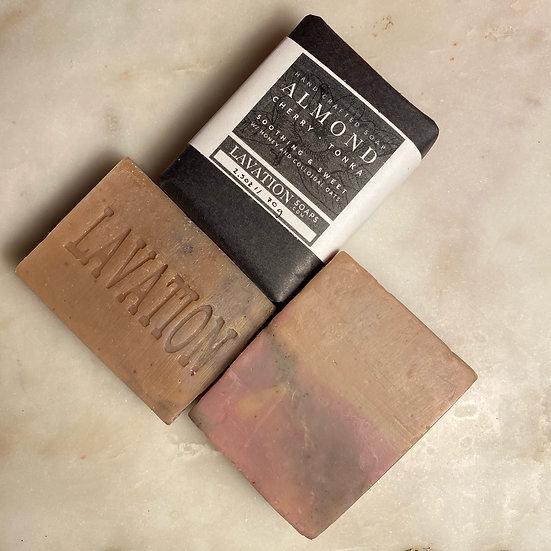 Honey Soap - Almond / Cherry / Tonka