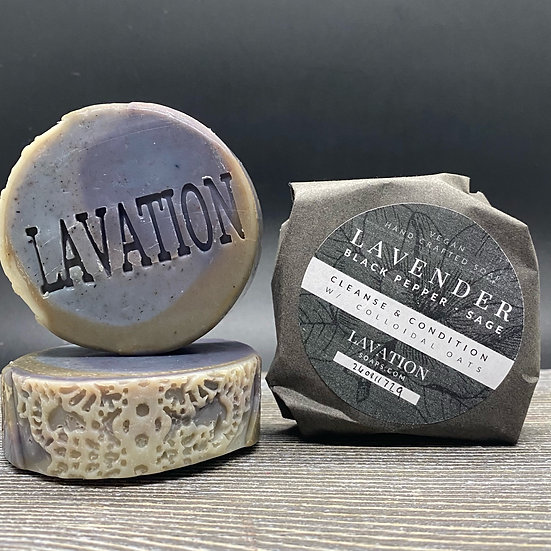 Lavender/Black Pepper/Sage
