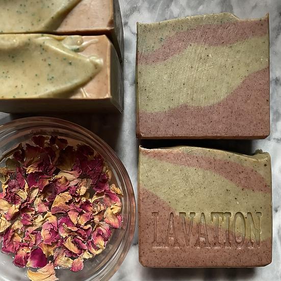 Buttermilk & Aloe Soap- Pistachio / Rose Water / Lime