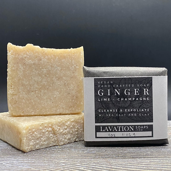 Salt Bar- Ginger/Lime/Champagne
