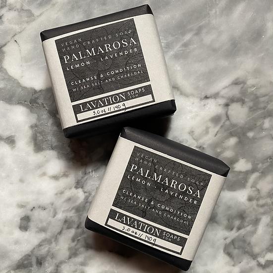 Salt Soap - Palmarosa / Lemon /Lavender