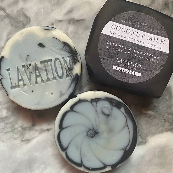 Coconut Milk & Aloe Soap