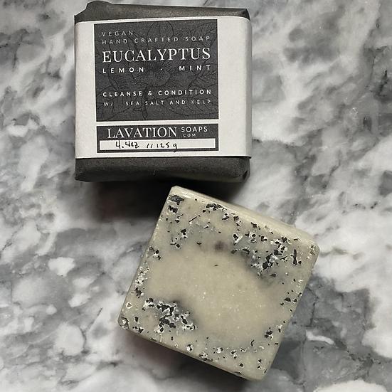 Brine Soap- Eucalyptus/Lemon/Mint