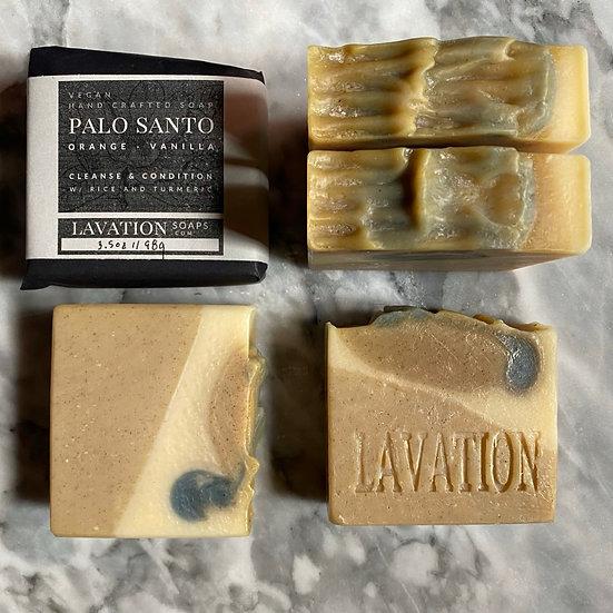 Rice Soap - Palo Santo / Orange / Vanilla