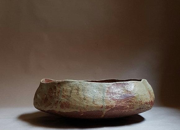 Large Ash Glazed Bowl
