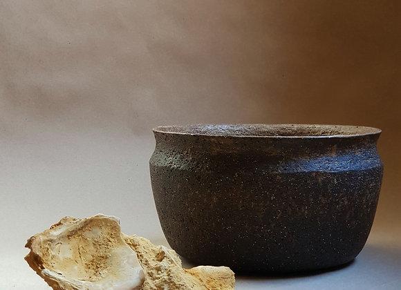 Ashglazed bowl