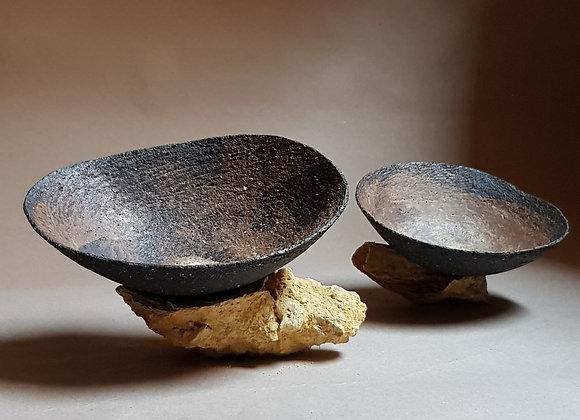 Ashglazed bowls