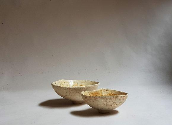 Small Ashglazed Bowls