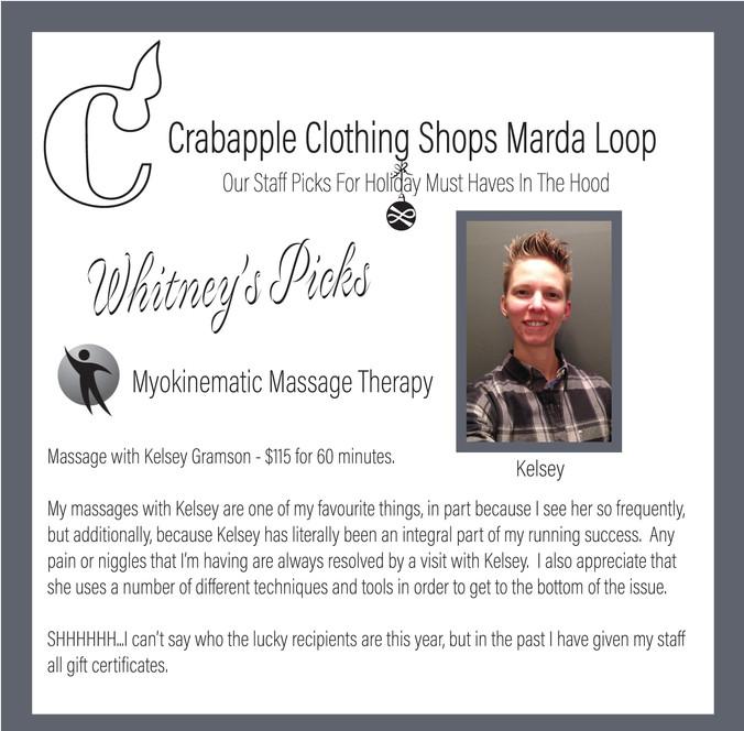 Myokinematic Massage Therapy