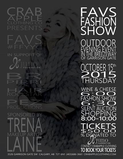 Crabapple Clothing Co. Fall 2015 Fashion Show Photos