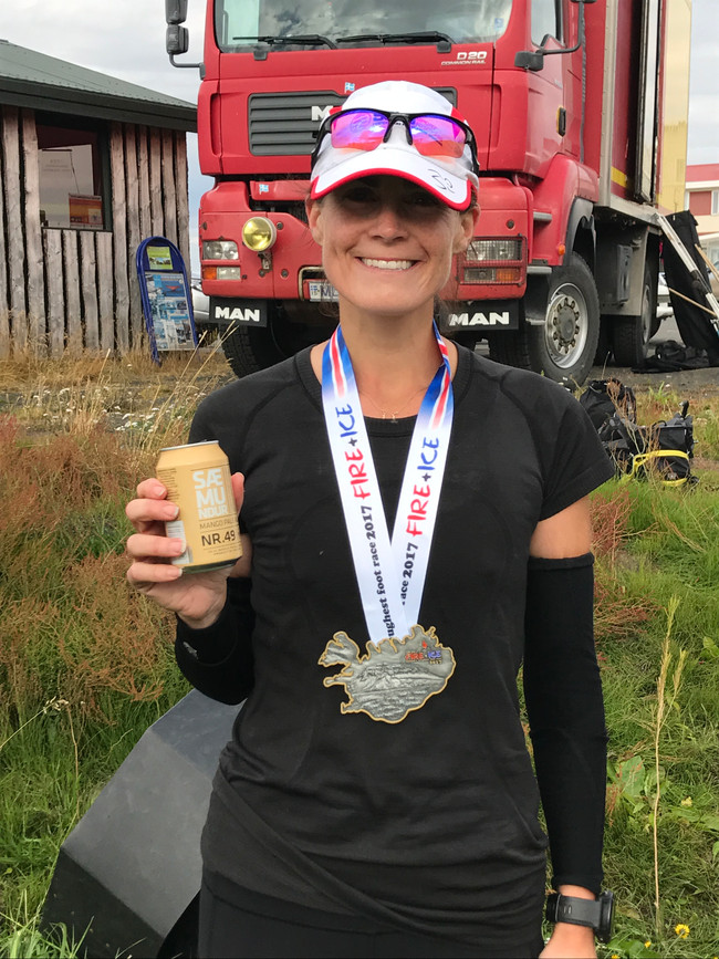FROM FASHION TO FOOTRACE - A not so glamorous account of my race across Iceland