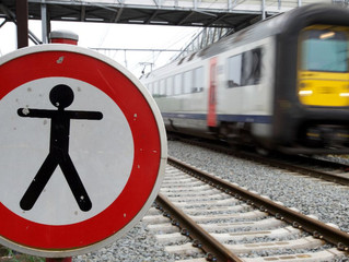 Spoorlopen: 3 doden, 6 zwaargewonden, 100 dagen vertraging in 2018