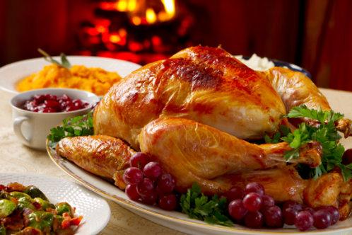 Deposit on All Natural Free Range Fresh Turkey