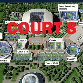 US Open Tennis Court 8