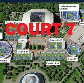 US Open Tennis Court 7