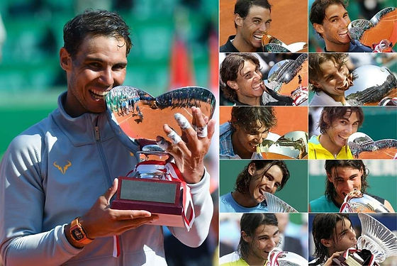 2018 04 Nadal 11th tites Monte-Carlo ten