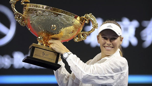 2018 09  Beijing  Wozniacki's 30th caree