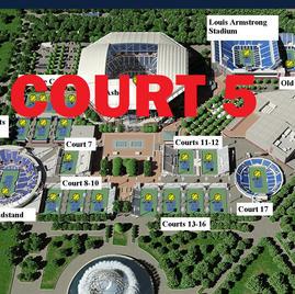 US Open Tennis Court 5
