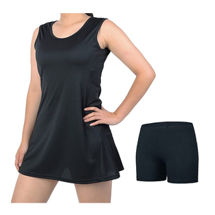 beroy Tennis Dress for Women with Shorts - Women Sleeveless & 4 Pockets Workout Exercise Clothes
