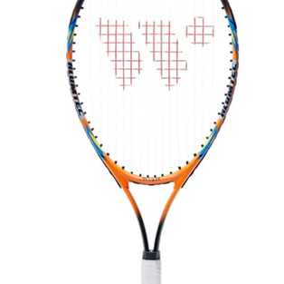 Wish Junior Unisex Alumtec Tennis Racket With 3/4 Cover - Multicolor, One Size