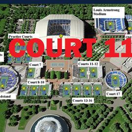 US Open Tennis Court 11