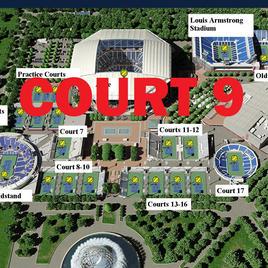 US Open Tennis Court 9
