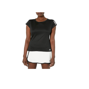 adidas Women's Club 3-stripes Tennis Tee