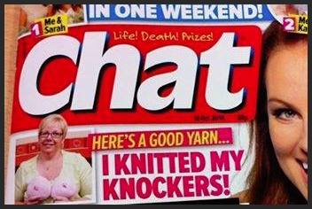 Kay featured in Chat magazine