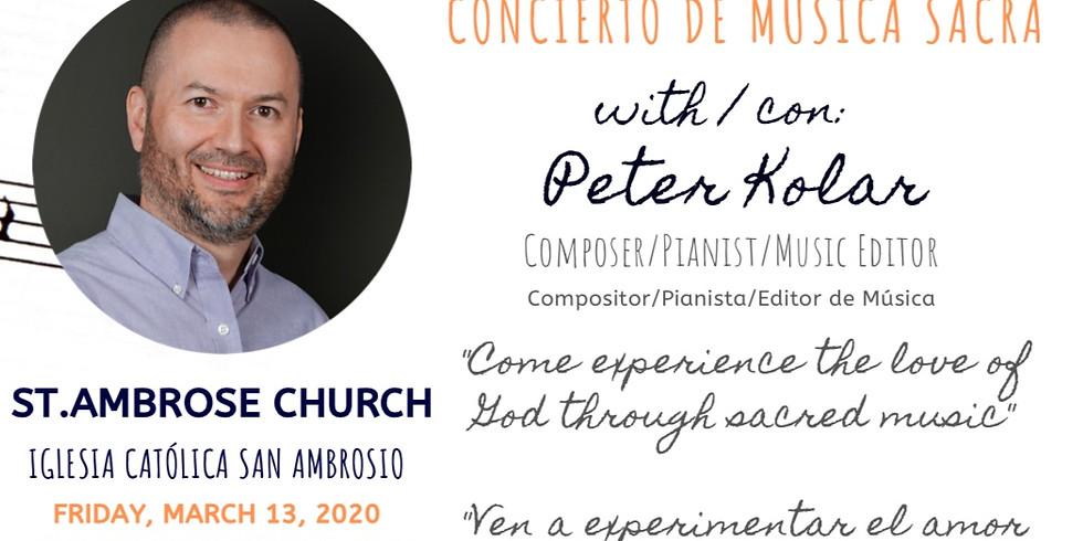 A Concert with Peter Kolar