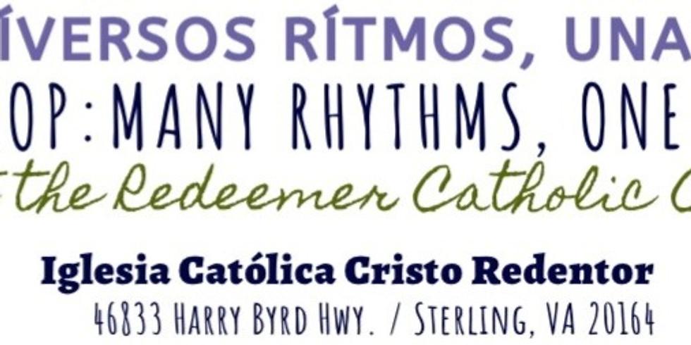 A Workshop with Peter Kolar: Diversos Ritmos, Una Oración - Many Rhythms, One Prayer